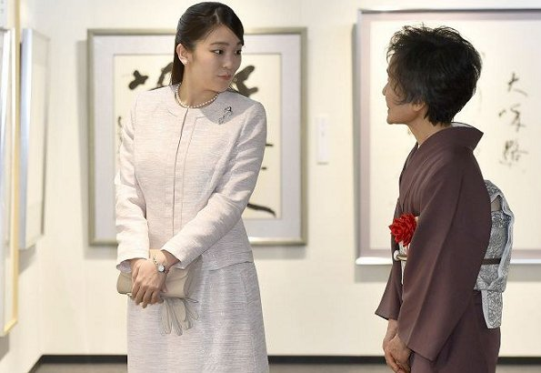 Princess Mako was the first official duty of the Princess after Imperial Household Agency announced on February 6 that wedding of Princess Mako and her fiance Kei Komuro is postponed to 2020