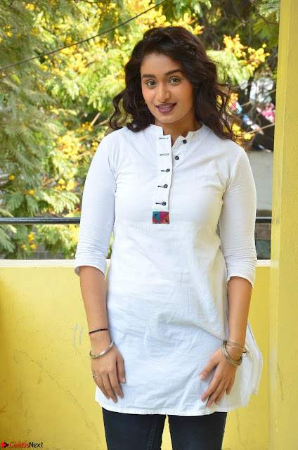 Kiran Chetwani in Denim and White Kurti  Exclusive 002.JPG