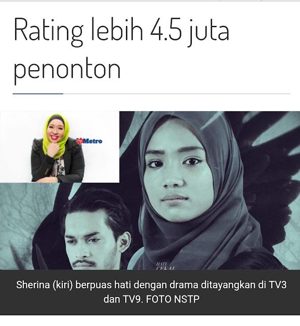 Drama Patahnya Sebelah Sayap Rating Lebih 4.5 Juta Penonton