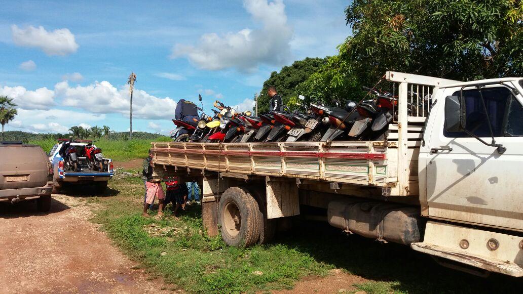 Chapadinha: Operação da Polícia Militar, Polícia Civil e GCM resultam na apreensão de 21 motos roubadas.