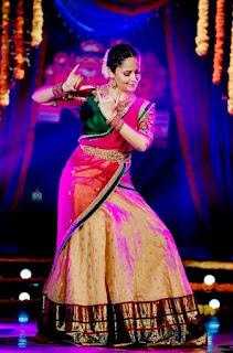 Telugu Television Actress Anasuya Latest Picture shoot In red lehenga Choli (6)