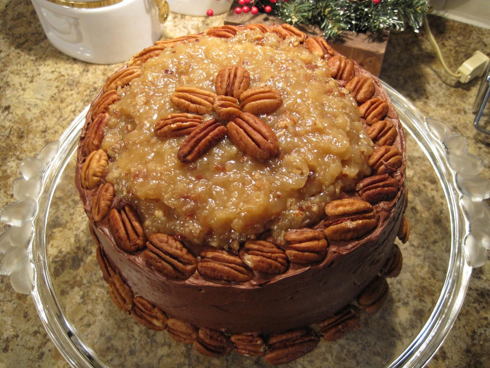 German Chocolate Cake Recipe Joy Of Baking: On Crooked Creek: German Chocolate Cake
