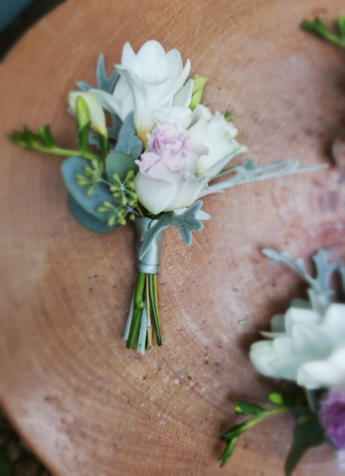 vintage wedding corsages