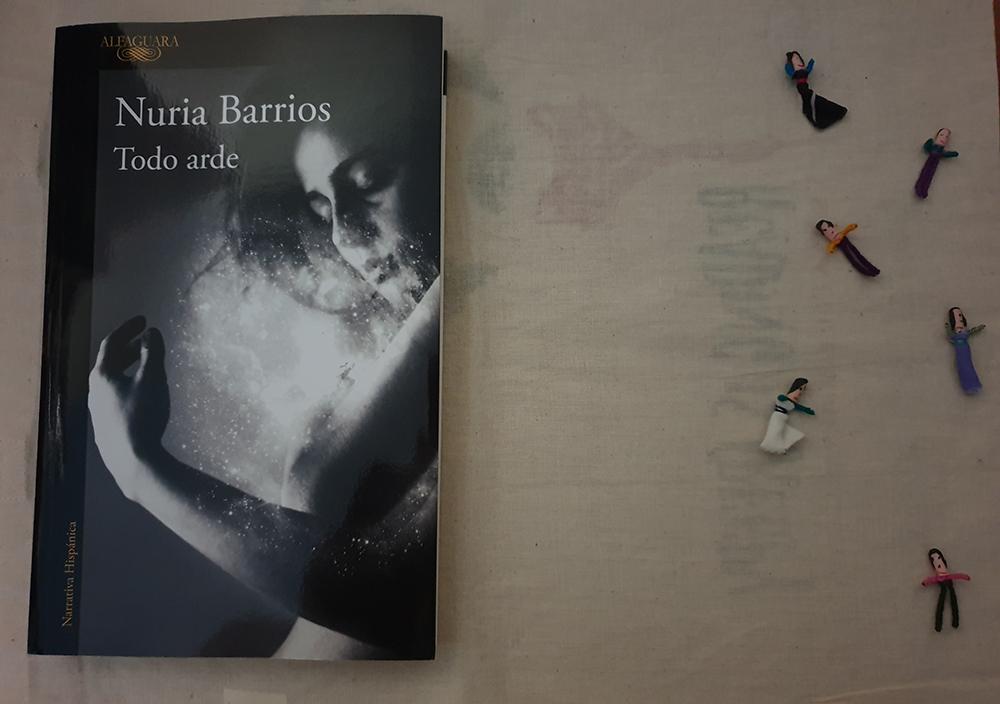 Reseña de «Todo arde» de Nuria Barrios (Alfaguara)
