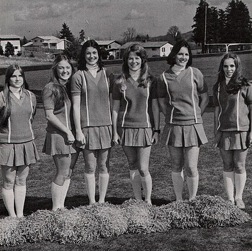 12 African American Cheerleading Images From The Past: Vintage Cheerleader Pictures From 1966-1967