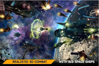 Free Download Space Armada: Star Battles Mod Apk Unlimited Money for Android