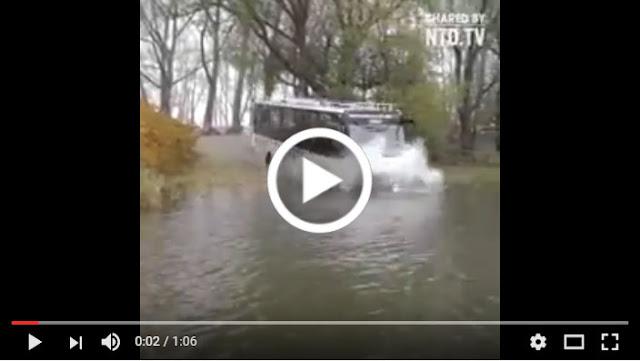 Nih, Bus Yang Dibutuhin Indonesia, Khususnya Jakarta Yang Sering Banjir