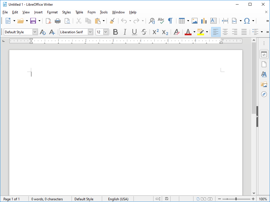 LibreOffice 6.4.0