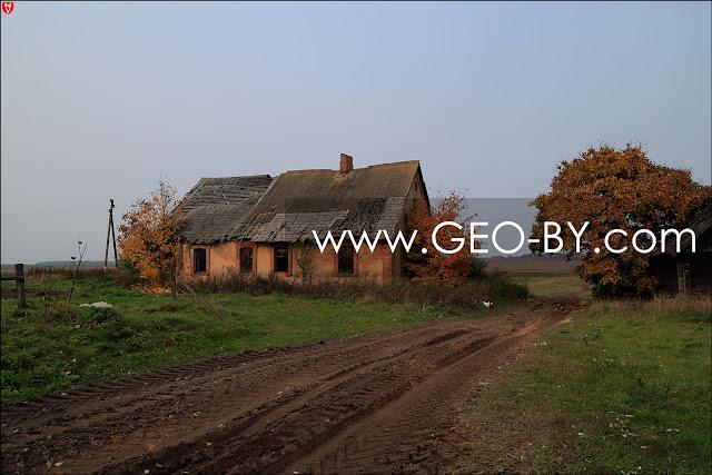 Vialikaja Rajoŭka village. Manor