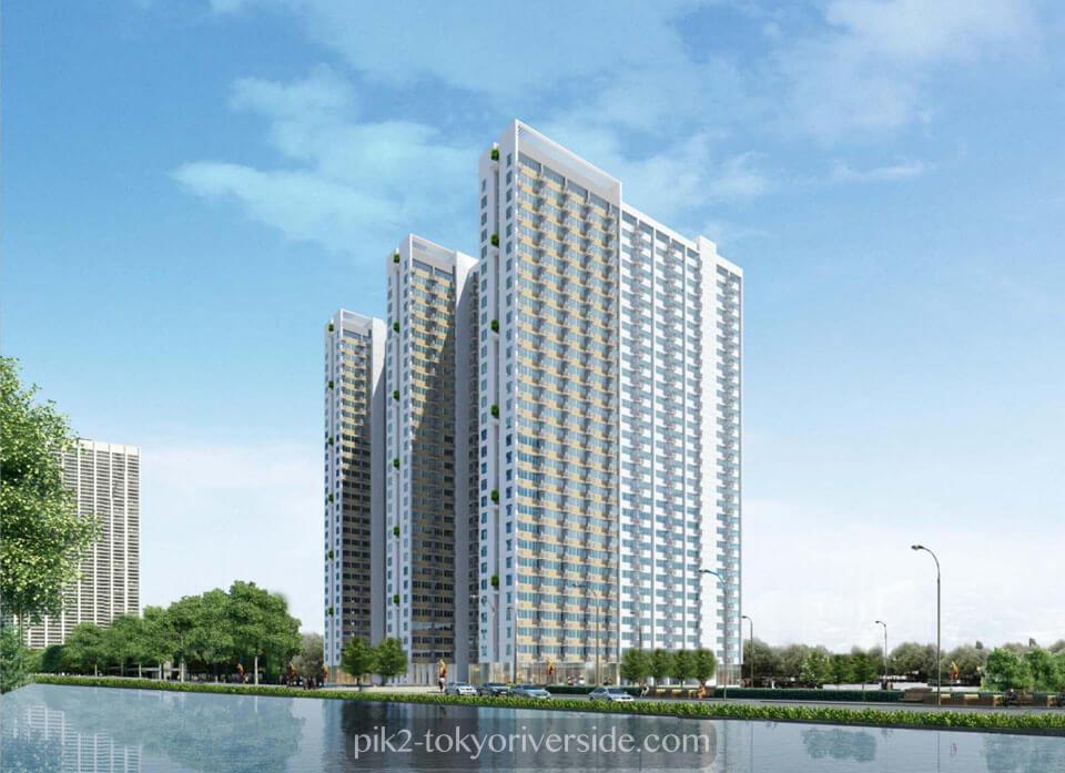 Apartemen Osaka PIK2