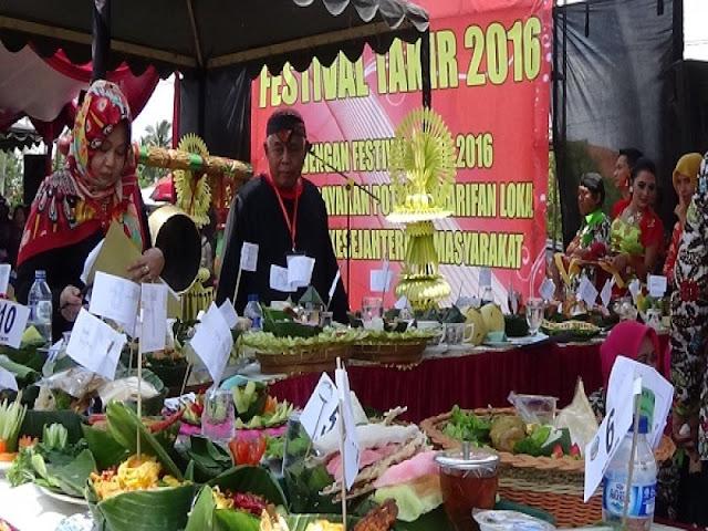 Ratusan Takir, Ramaikan Festival Takir Banyumas