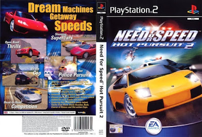 Jogo Need For Speed Hot Pursuit 2 PS2 DVD Capa