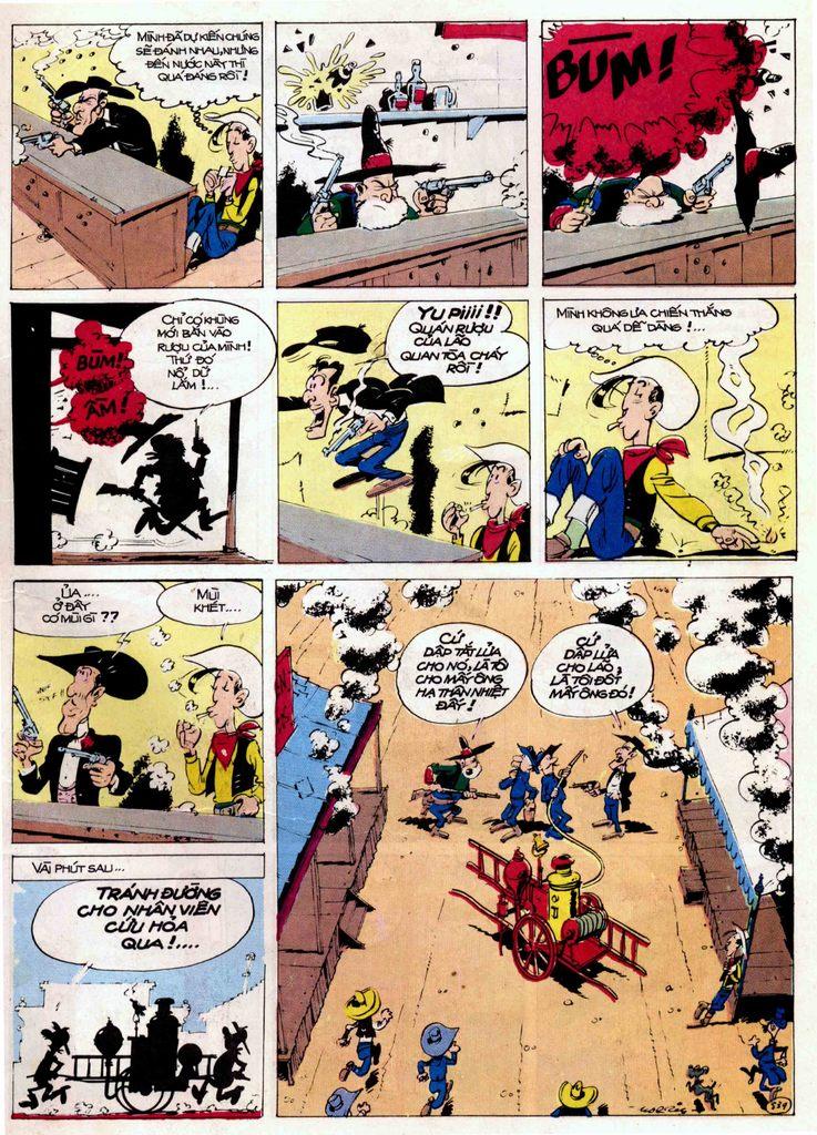Lucky Luke tập 21 - sợi dây biết hát trang 19