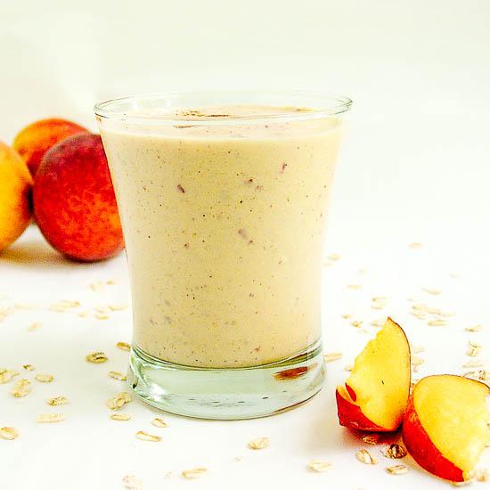 peach cobbler smoothie