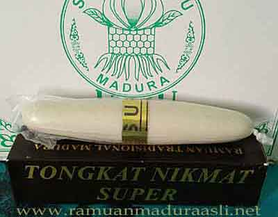 tongkat nikmat madura warna putih