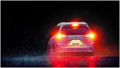 Car brake lights and turn signals