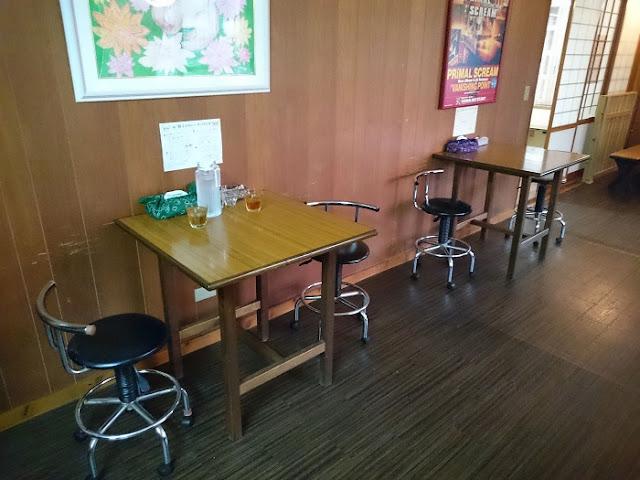 桃猫食堂の店内の写真