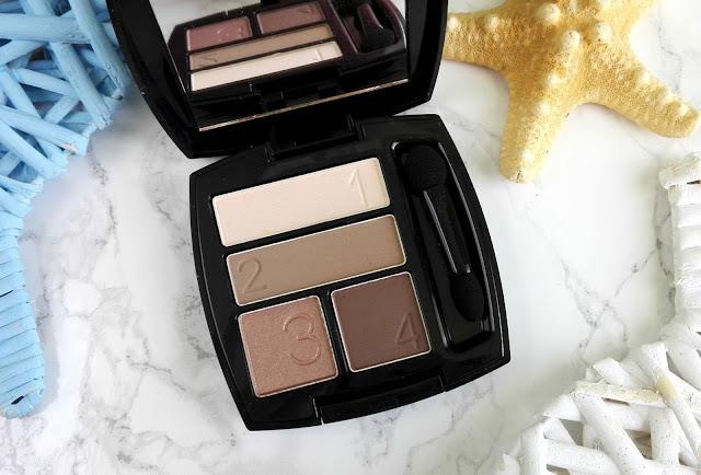 Avon True Color Eyeshadow Quad Mocha Latte