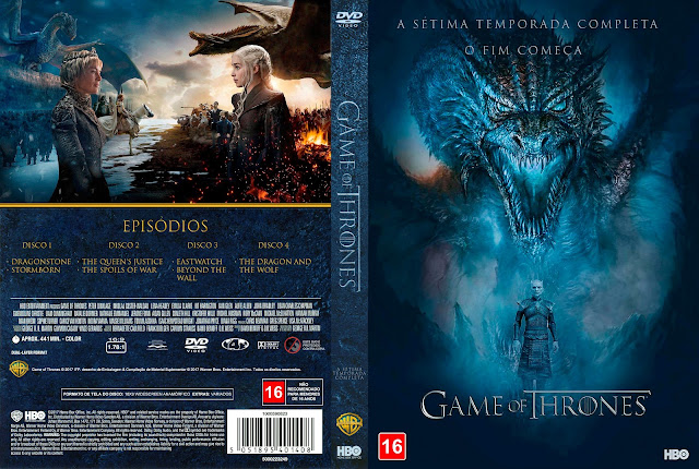 Capa DVD Game of Thrones - Sétima Temporada [Custom]