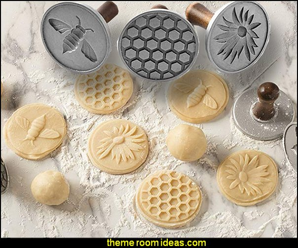Honeybee Cast Cookie Stamps  bee themed party - bumble bee decorations - Bumble Bee Party Supplies - bumble bee themed party - Pooh themed birthday party - spring themed party - bee themed party decorations - bee themed table decorations - winnie the pooh party decorations - Bumblebee Balloon -  bumble bee costumes