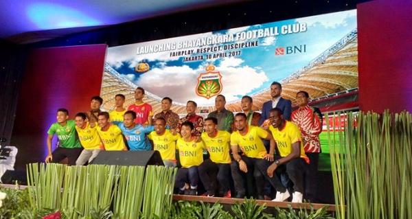 Resmikan Bhayangkara FC, Kapolri: Target Kita 5 Besar!