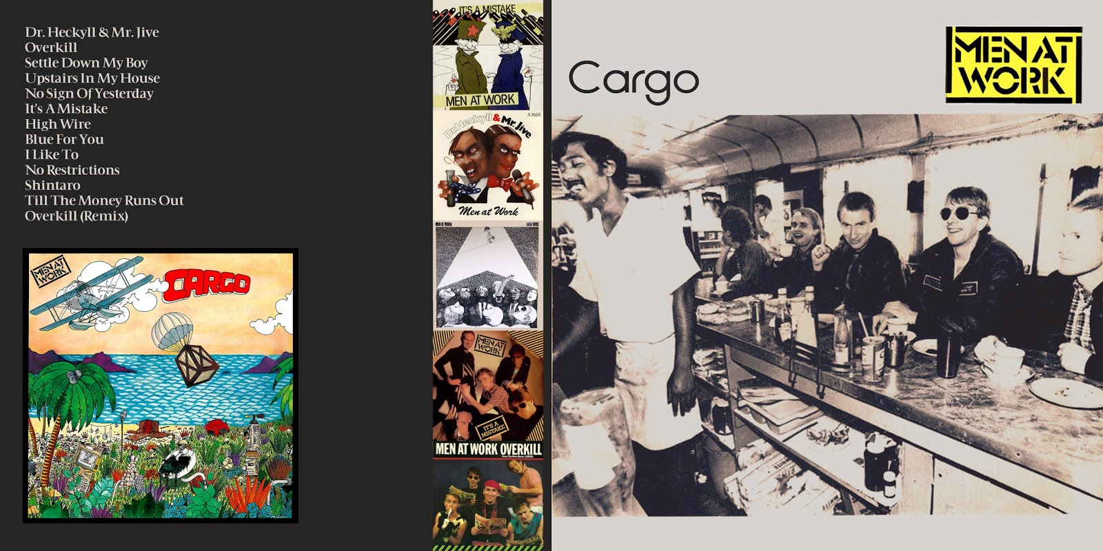All the Air In My Lungs: Men At Work - Cargo - 1982