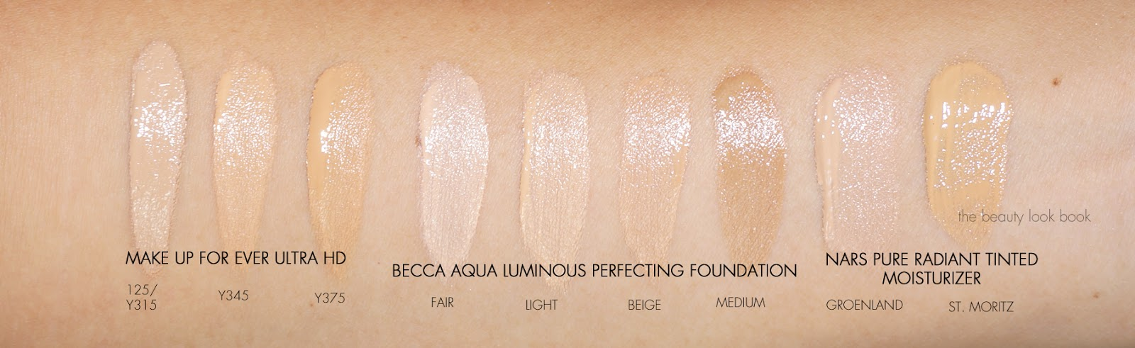 Makeup forever foundation colors