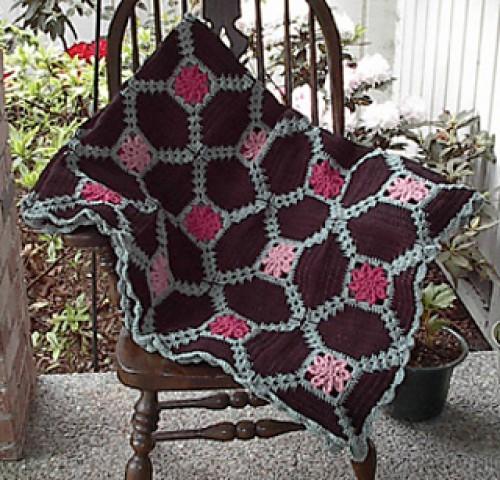 Dahlia Afghan - Free Pattern
