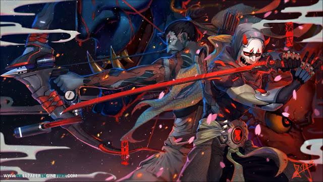Hanzo & Genji Overwatch Wallpaper Engine Free