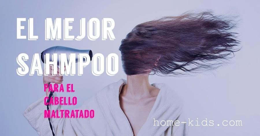 mejor shampoo para cabello maltratado