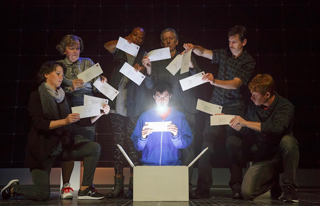 The Curious Incident of the Dog in the Night-Time at the Fisher Theatre, Detroit