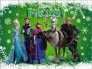 Etiquetas de Fiesta de Frozen Fever  para imprimir gratis.