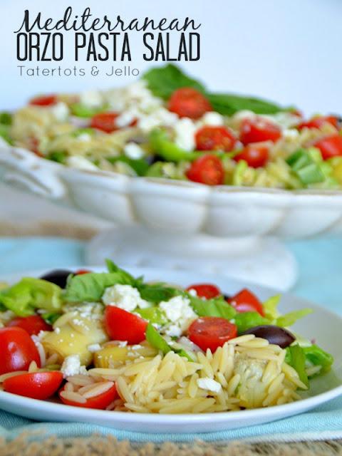 Mediterranean orzo pasta salad - Ioanna's Notebook