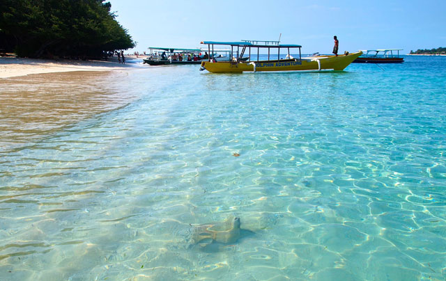 Gili Air is the nearest Gili to Lombok BestplacetovisitinIndonesia; Gili Air