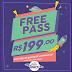 Free Pass no Play Space - use o mês todo