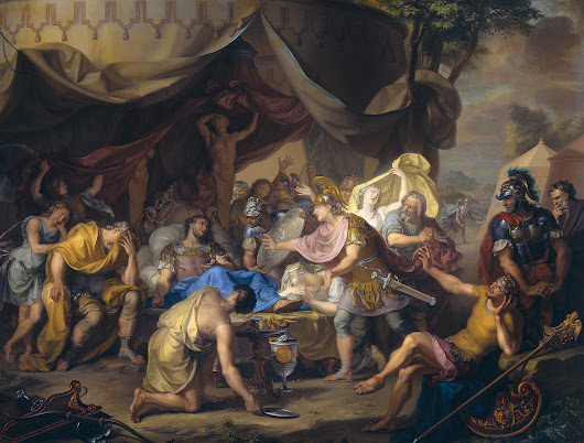 A Napoleon from Belgium – The Battle of Mantineia and the Death of Epaminondas of Thebes
