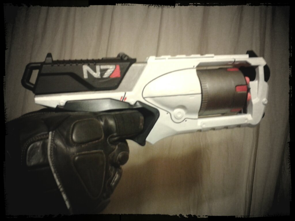 Mass Effect Nerf Paint Job