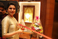 Samantha Ruth Prabhu in Cream Suit at Launch of NAC Jewelles Antique Exhibition 2.8.17 ~  Exclusive Celebrities Galleries 037.jpg