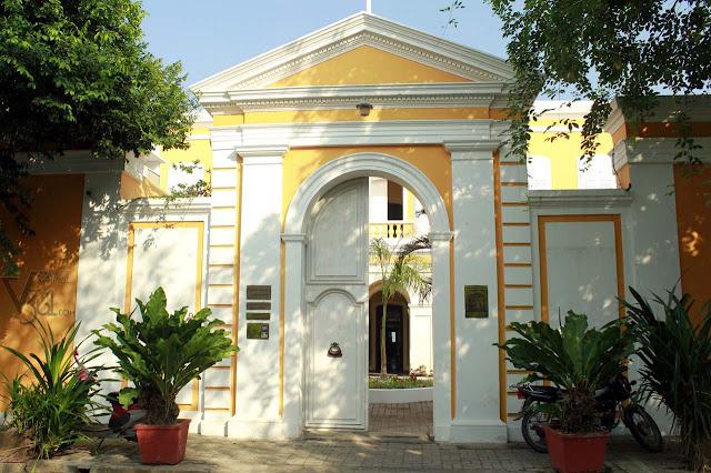 Institut Français De Pondichéry, Rue Saint Louis