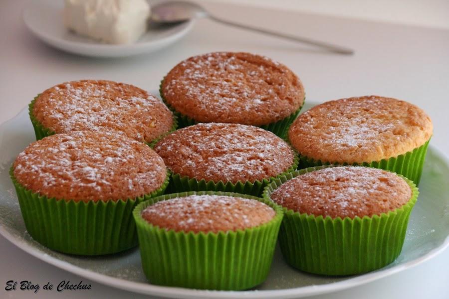 Cupcakes de queso y limón, Cupcakes, El Blog de Chechus, Chechus Cupcakes