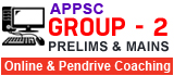 APPSC Group - 2 Online & Pendrive Coaching