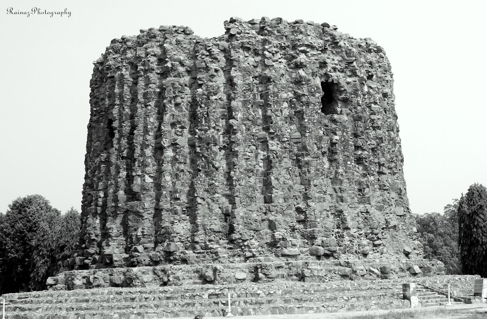 Ruins of alai minar