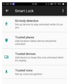 Cara Gunakan Smart Lock di Oppo A57 untuk membuka kunci ponsel Anda dengan mudah