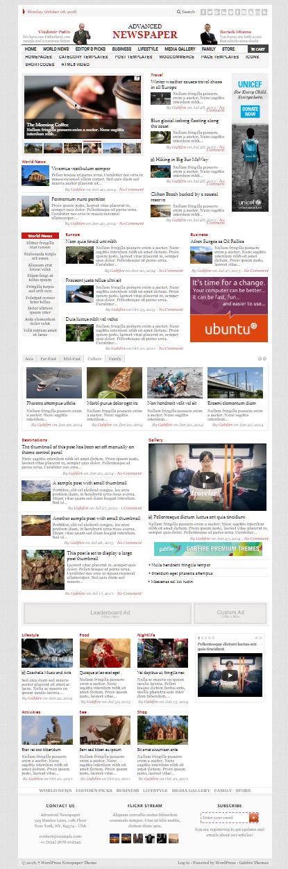 Blogger Haber sitesi temasi türkçe
