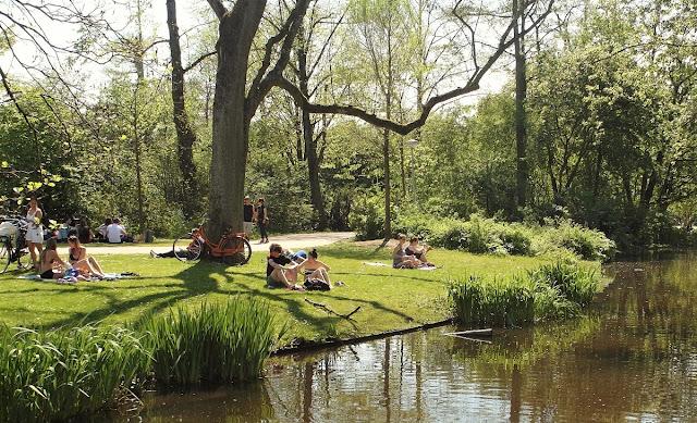 park i Amsterdam