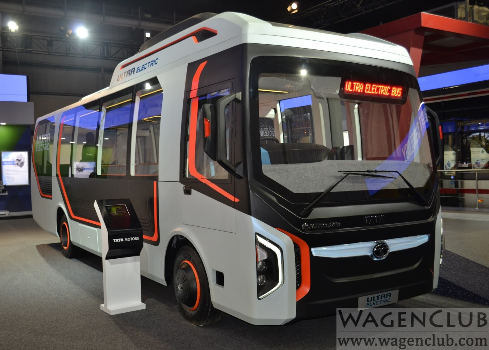 Tata Ultra Electric Mini Bus 2016 Auto Expo Wagenclub