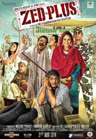 Zed Plus 2014 Full Hindi Movie Download 720p HDRip