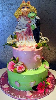 bolo+miss+piggy+sapo+cocas - Bolo de Casamento Clássico - Inspirações