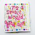 It's a Small World - Art Journal Zine