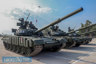 Tank T-72 LPAF Laos